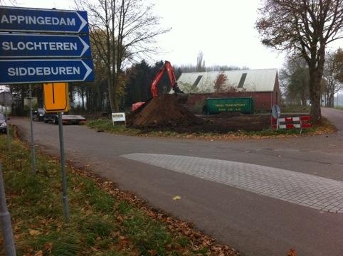 Start nieuwbouw woning Wagenborgen