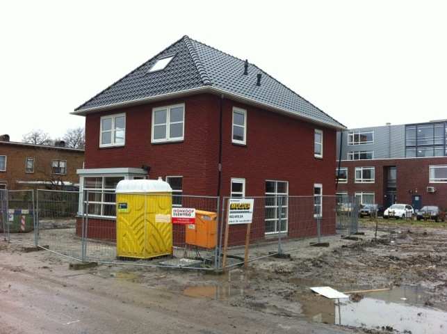 Nieuwbouw woning Appingedam, wind en waterdicht