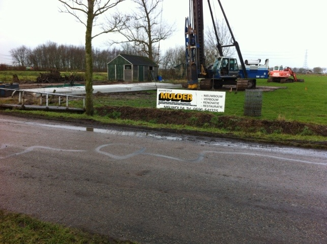 Nieuwbouw woning Appingedam gestart