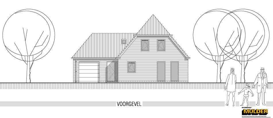 """Nieuwbouw woning plan """"Woellust"""""""