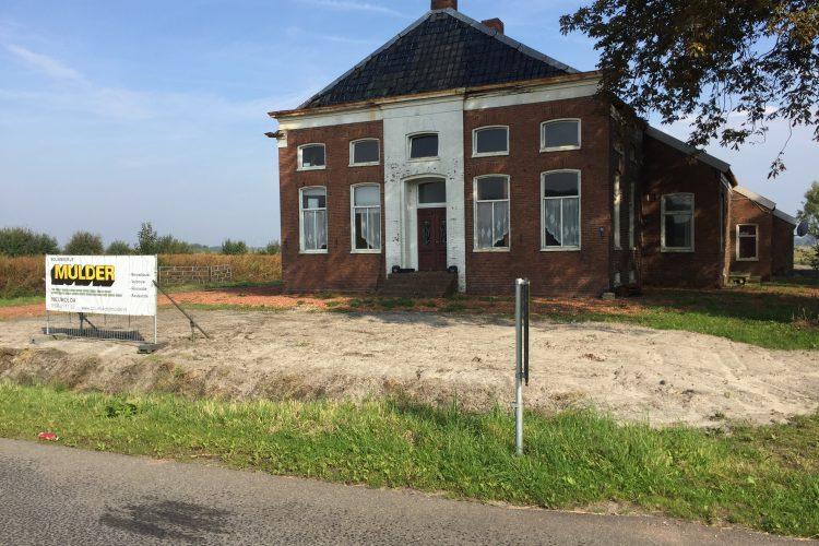 Onderhoudswerkzaamheden bij 2 boerderijen Winschoten