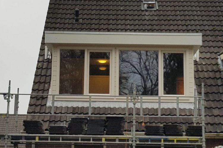 Nieuwe dakkapel Schoonoord