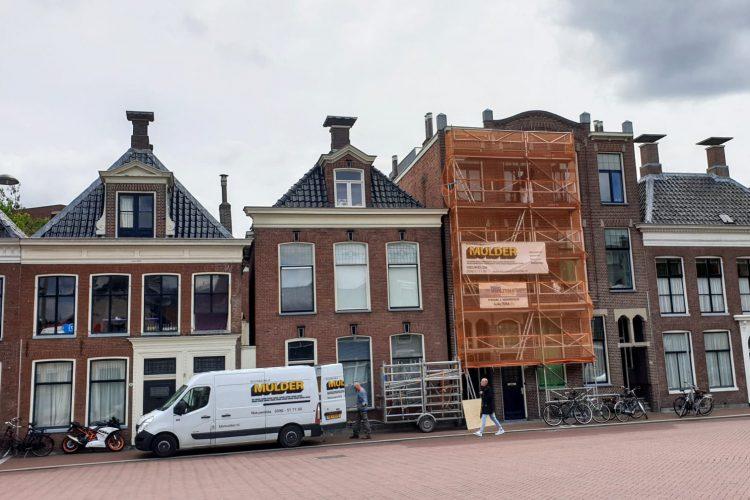 Herstel bevingschade en realiseren dakterras te Groningen
