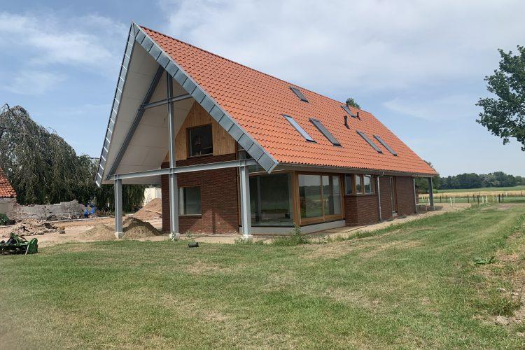 Nieuwbouw woning Wagenborgen bijna gereed